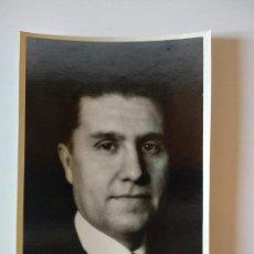 Documentos antiguos: FOTOGRAFIA RETRATO ORIGINAL DEL PINTOR DE MADRID MANUEL DE GUMUCIO. Lote 153192554