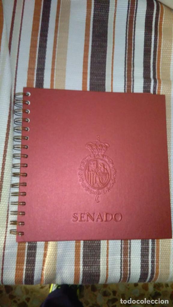 CUADERNO-AGENDA DEL SENADO AÑO 2007 SIN USO (Coleccionismo - Documentos - Otros documentos)