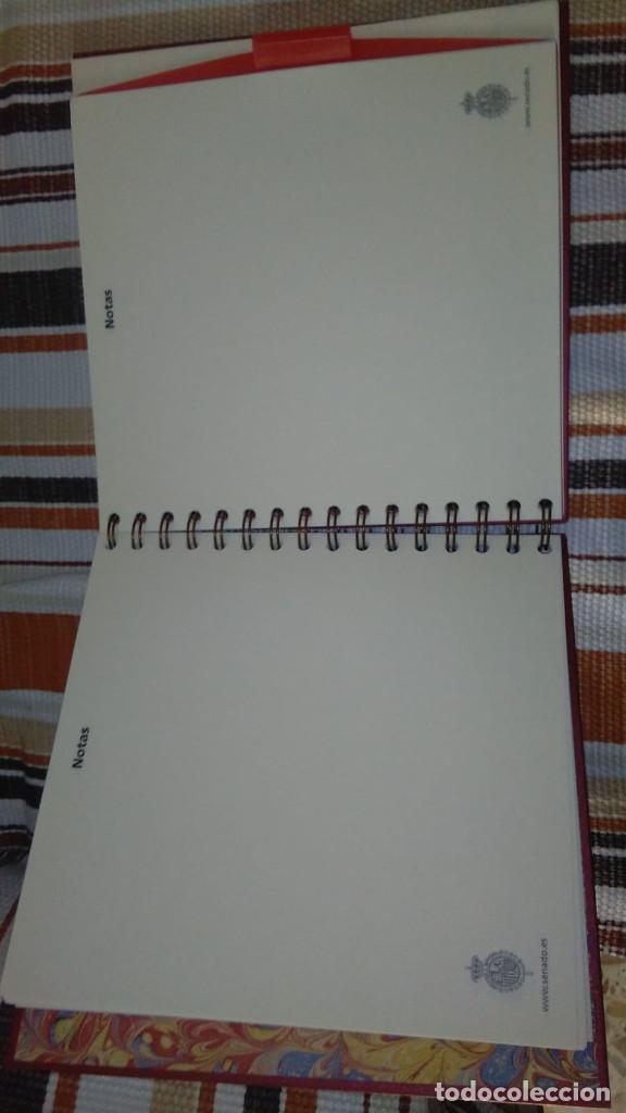 Documentos antiguos: CUADERNO-AGENDA DEL SENADO AÑO 2007 SIN USO - Foto 4 - 153236934
