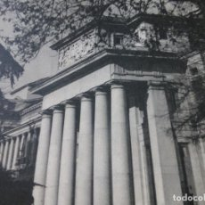 Documentos antiguos: MADRID MUSEO DEL PRADO ANTIGUA LAMINA HUECOGRABADO AÑOS 50. Lote 153862662