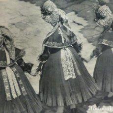 Documentos antiguos: MONTEHERMOSO CACERES TIPOS ANTIGUA LAMINA HUECOGRABADO 1933 21 X 29 CMTS. Lote 154360674