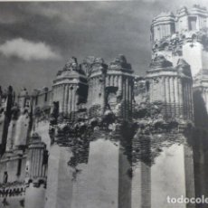 Documentos antiguos: COCA SEGOVIA CASTILLO ANTIGUA LAMINA HUECOGRABADO AÑOS 40. Lote 154540534
