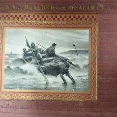 Documentos antiguos: CARTEL PUBLICITARIO DE FARMACIA J HORTAL DR RIESCO 84 SALAMANCA. Lote 154699686