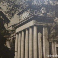 Documentos antiguos: MADRID MUSEO DEL PRADO ANTIGUA LAMINA HUECOGRABADO AÑOS 40. Lote 154721022