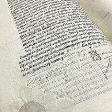 Documentos antiguos: REAL PROVISIÓN SANTA HERMANDAD VIEJA CIUDAD REAL 1726. PERSECUCIÓN Y PRISIÓN LADRONES.. Lote 154827698