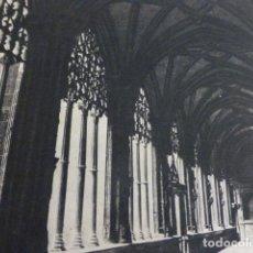 Documentos antiguos: NAJERA LA RIOJA ANTIGUA LAMINA HUECOGRABADO AÑOS 40 . Lote 154929438