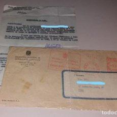 Documentos antiguos: PAPEL ANTIGUO. TRABAJADORA CALZADO ELDA. CERTIFICADO DE BAJA E INVALIDEZ PERMANENTE. Lote 155002514