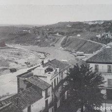 Documentos antigos: MONTORO CORDOBA VISTA LAMINA HUECOGRABADO AÑOS 30. Lote 155705622