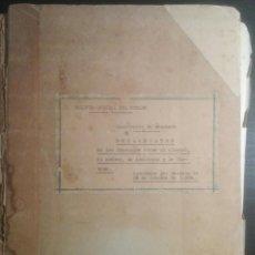 Documentos antiguos: BOLETÍN OFICIAL DEL ESTADO MINISTERIO DE HACIENDA 1954. Lote 155706294