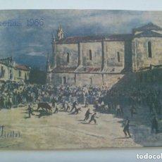 Documentos antiguos: PROGRAMA DE FESTEJOS DE LAS FIESTAS DE DUEÑAS ( PALENCIA ) , 1966. Lote 156553762