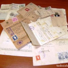 Documentos antiguos: DOCUMENTOS VARIOS.CERTIFICADOS.F.E.T DE LAS J.O.N.S.MEDICO,PENITENCIARIO-PERMISO DE ARMAS.LICENCIA. . Lote 156569882