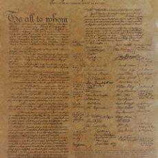 Documentos antiguos: ARTÍCULOS DE LA CONFEDERACIÓN DE ESTADOS UNIDOS 1778.. Lote 156665078