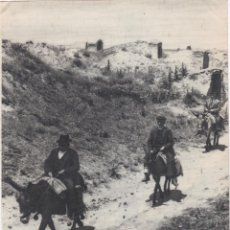 Documentos antiguos: 1 HOJA SUELTA + 1 HOJA DOBLE, FOTOS DE SAN CRISTOBAL DE ENTREVIÑAS, ZAMORA. Lote 157292434