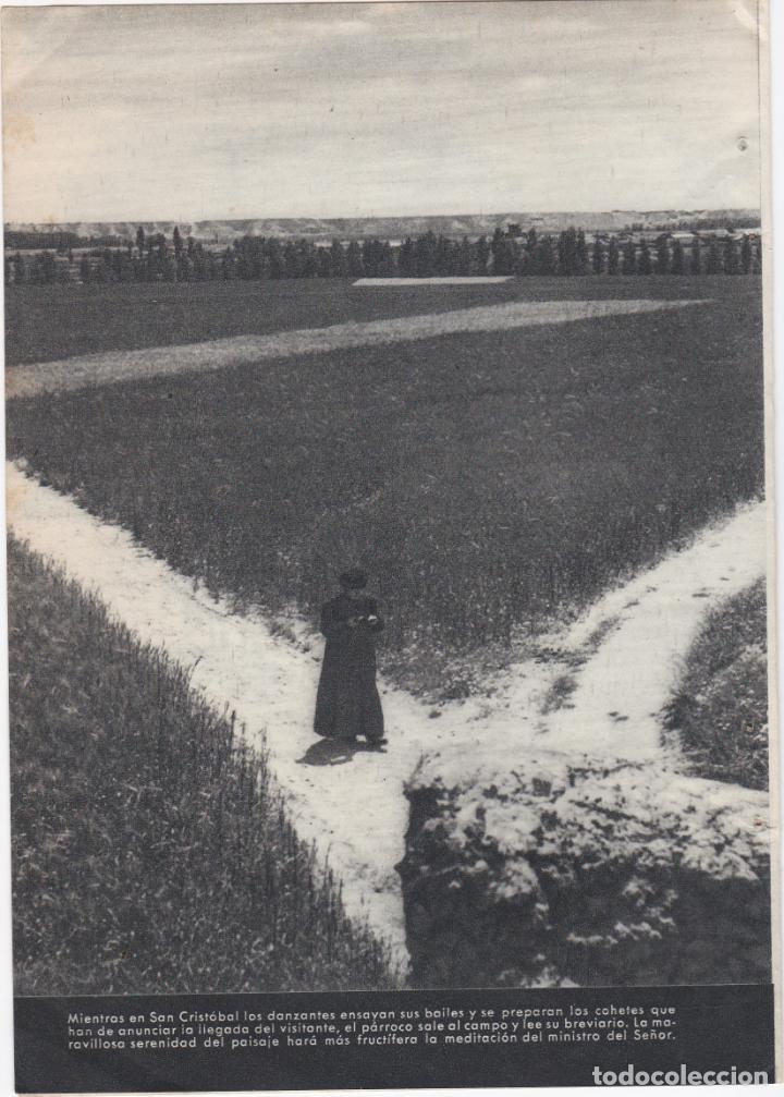 Documentos antiguos: 1 hoja suelta + 1 hoja doble, fotos de san cristobal de entreviñas, zamora - Foto 2 - 157292434