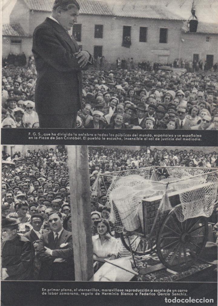 Documentos antiguos: 1 hoja suelta + 1 hoja doble, fotos de san cristobal de entreviñas, zamora - Foto 3 - 157292434