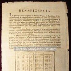 Documentos antiguos: JAUME, BARTOLOMÉ. (ADMINISTRADOR). [LOTERIA. PALMA DE MALLORCA. 1810] LA QUANTIOSA DEUDA.... Lote 158123562