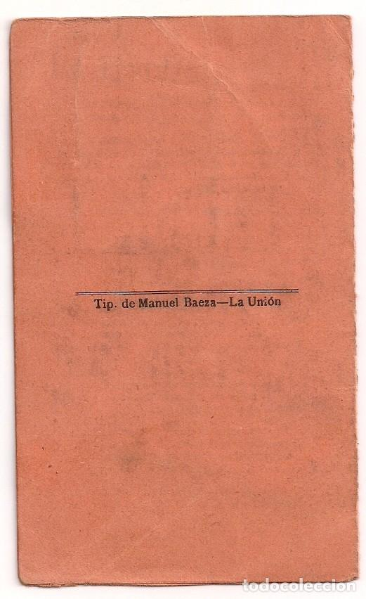 Documentos antiguos: Antiguo carnet de Identificación para la venta de Leche - Alcaldía de La Unión - Año 1934 - Foto 3 - 158948158