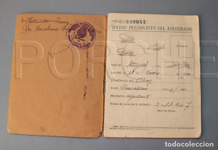 Documentos antiguos: CARTILLA DE CAJA NACIONAL DE SEGURO DE ENFERMEDAD - Foto 2 - 158968850