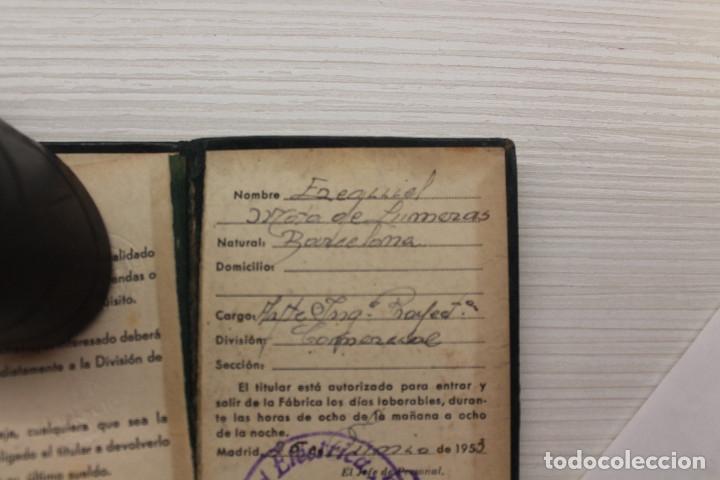 Documentos antiguos: CARNET STANDARD ELÉCTRICA SA, PIEL, 1953, TELÉFONOS, CABLES, 10X6,50 CM - Foto 5 - 129548247