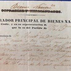 Documentos antiguos: LOTE 8 DOCUMENTOS AÑOS 1825 - 1835. VER FOTOS. Lote 159505166