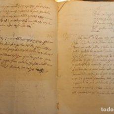 Documentos antiguos: DEMANDA Y APELACIÓN DE SENSAL * VALENCIA 1643 * 23 PÁGINAS *. Lote 159517874