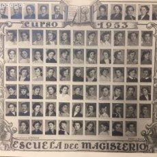 Documentos antiguos: ORLA ESCUELA DE MAGISTERIO ZARAGOZA - CURSO 1953. Lote 159883276