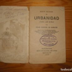 Documentos antiguos: MANUAL DE URBANIDAD 1913. Lote 160576930
