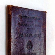 Documentos antiguos: PASAPORTE ARGENTINA (COMPL.31 PAG.) EXPEDIDO 1953,TAMAÑO PEQUEÑO,VISADOS,VIÑETAS CONSULARES (DESCRIP. Lote 160771582
