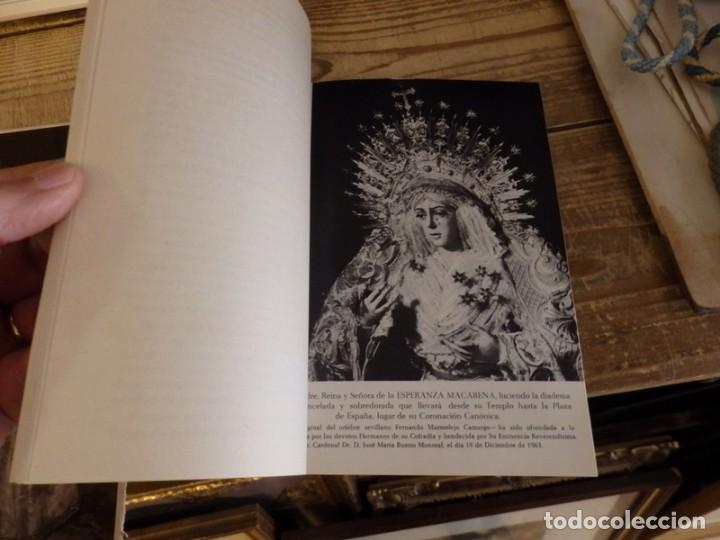 Documentos antiguos: SEMANA SANTA SEVILLA, 1964, PROGRAMA OFICIAL CORONACION ESPERANZA MACARENA, 44 PAGINAS - Foto 2 - 161617038