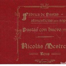 Documentos antiguos: REUS-TARRAGONA. Lote 162440126