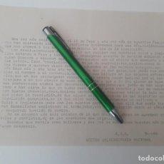 Documentos antiguos: TRANSICION. OCTAVILLA DE ACCION UNIVERSITARIA NACIONAL (A.U.N.) CONTRA MANIFESTACION DEL 1 DE MAYO. Lote 163311974
