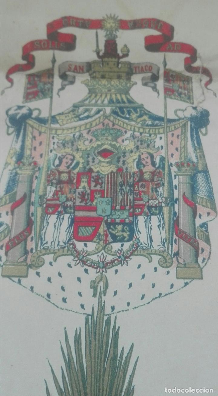 Documentos antiguos: Concesión Medalla de los Sitios de Gerona. 1910. José Canalejas. - Foto 3 - 164196826