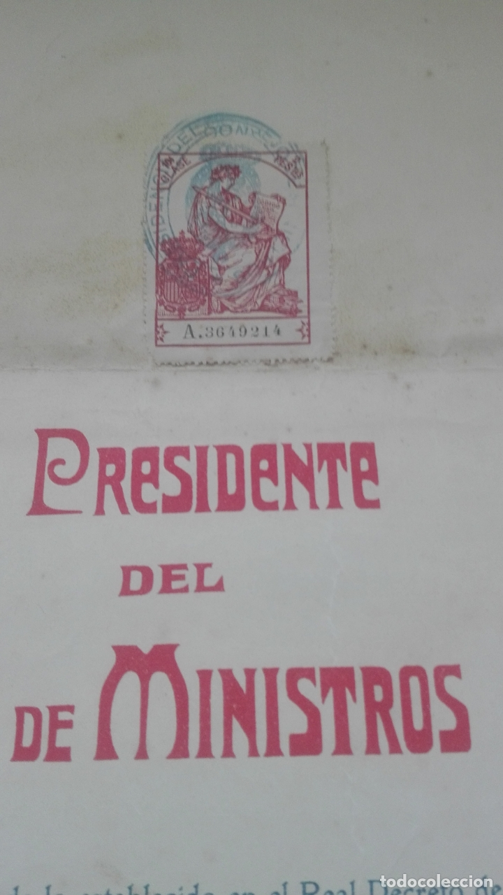 Documentos antiguos: Concesión Medalla de los Sitios de Gerona. 1910. José Canalejas. - Foto 4 - 164196826