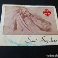 Documentos antiguos: CARTAGENA MURCIA SEMANA SANTA ANTIGUO RECUERDO SANTO SEPULCRO. Lote 164818322
