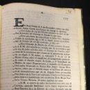 Documentos antiguos: REAL ORDEN SOBRE JURISDICCION MILITAR. SAN LORENZO, 1795. MEXICO, 1796. Lote 165067258