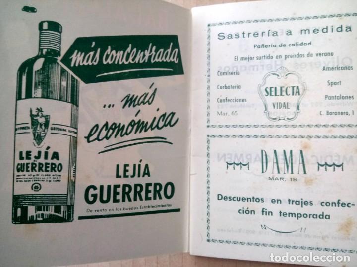 Documentos antiguos: BADALONA, PROGRAMA DE FIESTAS 1952, - Foto 2 - 165184306