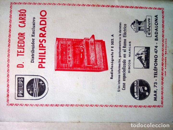 Documentos antiguos: BADALONA, PROGRAMA DE FIESTAS 1952, - Foto 5 - 165184306