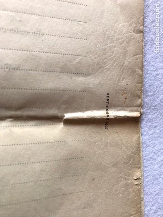Documentos antiguos: CONTRATO INQUILINATO CIUDAD DE SEVILLA CALLE SAN BARTOLOMÉ 1927. PAPEL PERGAMINO. - Foto 4 - 165504313