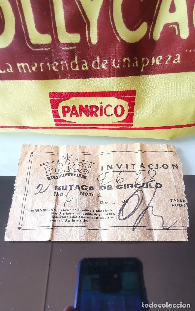 ENTRADA CIRCO PRICE MADRID AÑOS 60 (Coleccionismo - Documentos - Otros documentos)