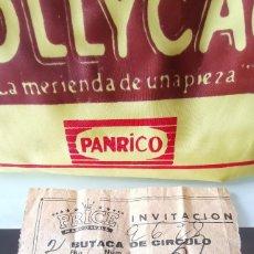 Documentos antiguos: ENTRADA CIRCO PRICE MADRID AÑOS 60. Lote 165696702