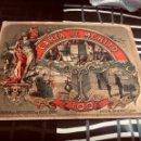 Documentos antiguos: CARTA DE MERITO TAMAÑO POSTAL NUMERO 100 LIBRERIA DE BLAS CAMI Y HERMANO UNION 26 BARCELONA VER FOTO. Lote 165802482
