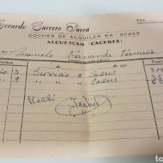 Documentos antiguos: LOTE ANTIGUOS DOCUMENTOS. Lote 165900782