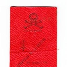 Documentos antiguos: RARO CARNET CAMARILLA ESTUDIANTIL GRANADA MEDICINA 1917. Lote 166180690