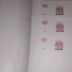 Documentos antigos: FACSÍMIL, PAPEL TIMBRADO DE ESPAÑA AÑO 1969 SIN ESCRIBIR. Lote 166620586