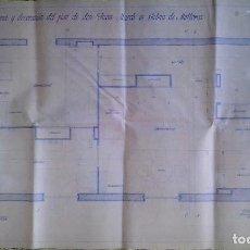 Documentos antiguos: PLANOS Y PROYECTOS. AÑO 1940. Lote 166643210