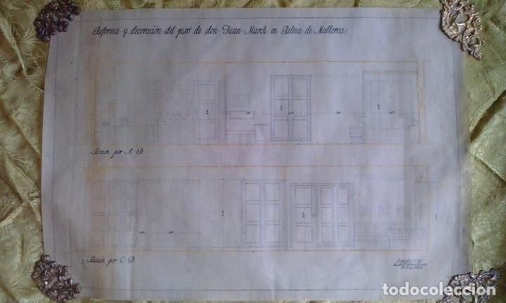Documentos antiguos: Planos y proyectos. Año 1940 - Foto 4 - 166643210