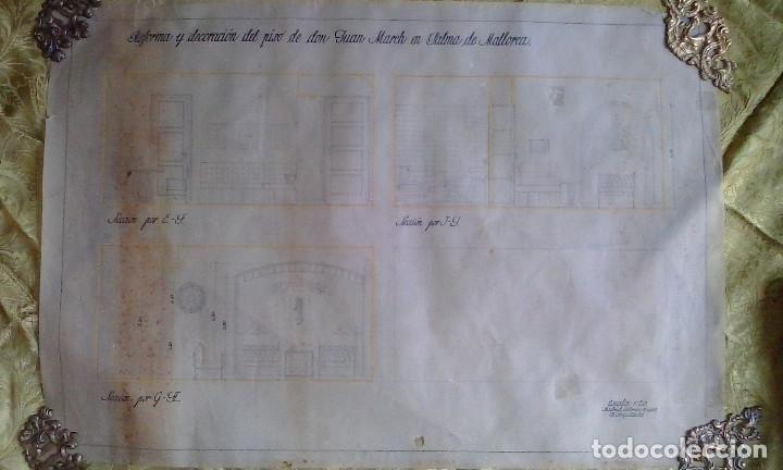 Documentos antiguos: Planos y proyectos. Año 1940 - Foto 6 - 166643210