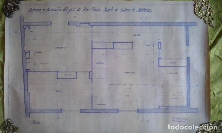 Documentos antiguos: Planos y proyectos. Año 1940 - Foto 8 - 166643210