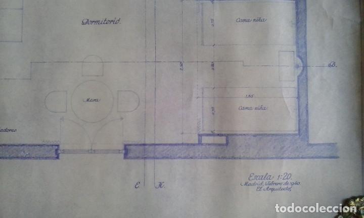 Documentos antiguos: Planos y proyectos. Año 1940 - Foto 9 - 166643210