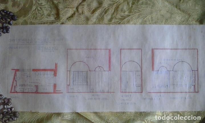 Documentos antiguos: Planos y proyectos. Año 1940 - Foto 10 - 166643210